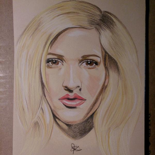 Ellie Goulding par chalittlefairy
